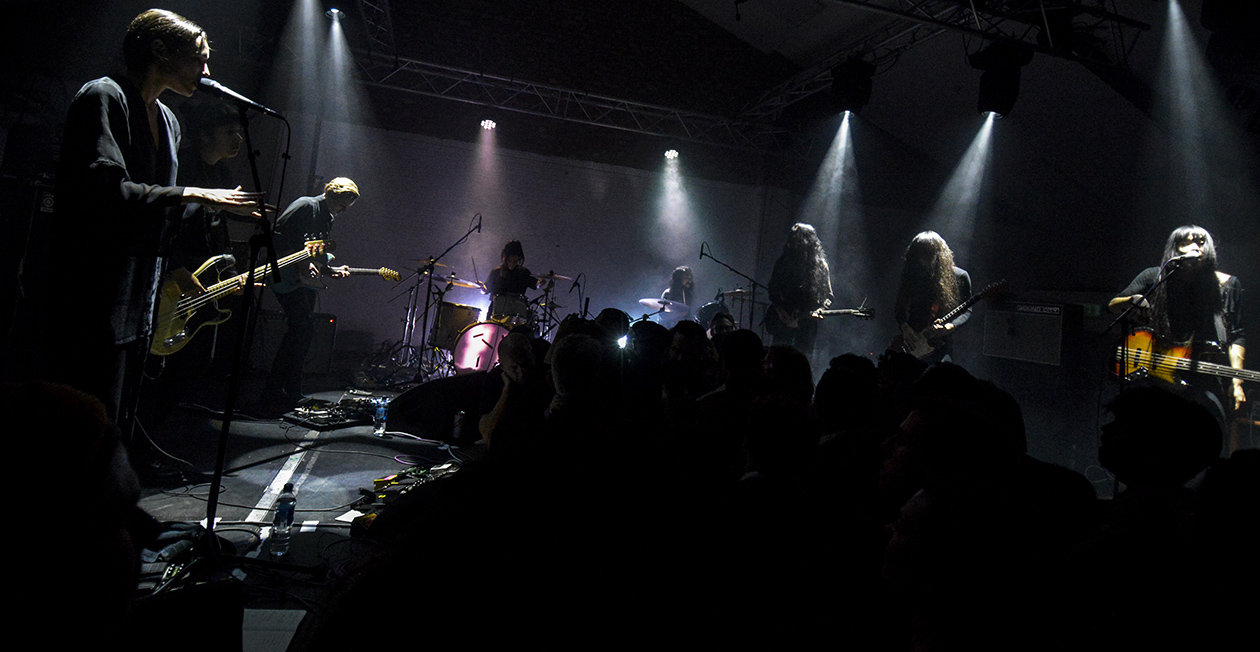 Savages & Bo Ningen, Words to the blind  live