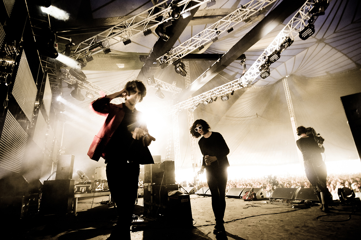 The Horrors, John Peel stage -Glastonbury-