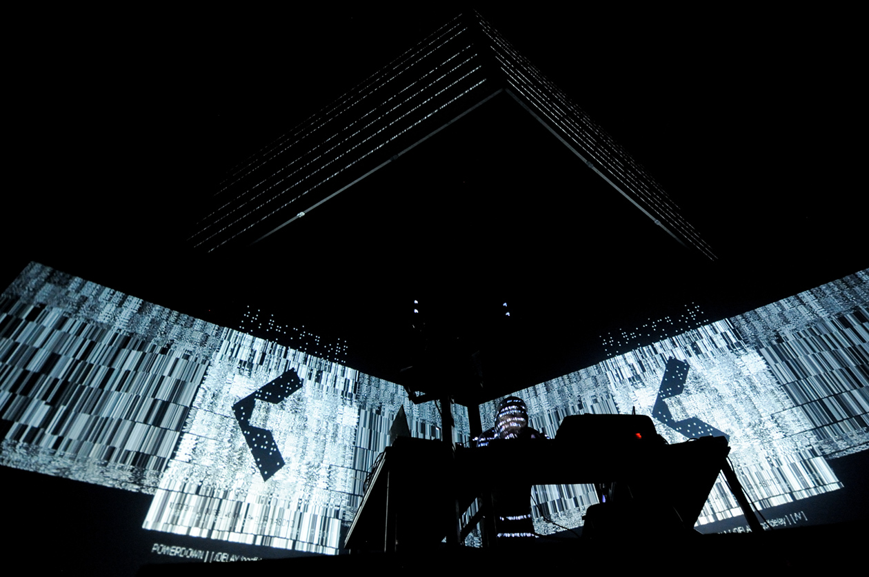 Squarepusher for black box echo/warp